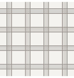 Seamless pattern of interwoven lines vector