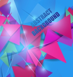 bright colorful abstract background vector image vector image