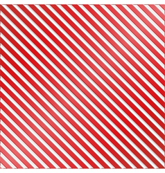 Red and White Striped Background vector image