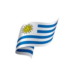 uruguay flag vector image
