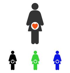 Fertility flat icon vector
