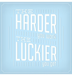 Quote Typographic Background Design vector image