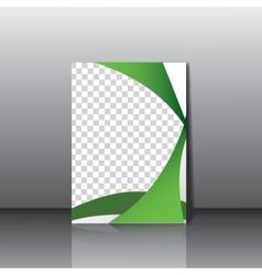 Business leterhead template vector