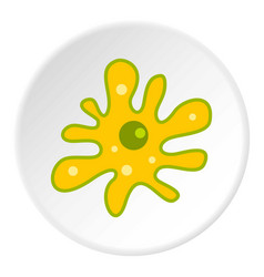 Amoeba icon circle vector
