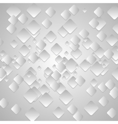 Grey tech geometrical background vector