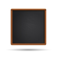 Blank blackboard vector