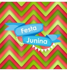Festa Junina Holiday Background Traditional vector image