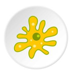 Amoeba icon circle vector
