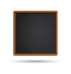 Blank blackboard vector