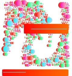 circles banner vector image vector image