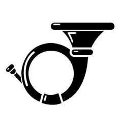 Cornet icon simple style vector