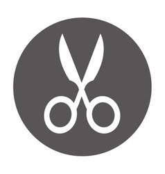 scissors school supply icon vector image