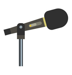 Sound recording equipment icon isolated vector