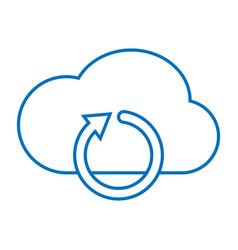 Cloud refresh storage vector