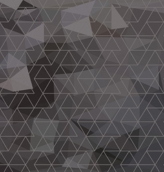 Abstract triangle geometrical multicolored vector