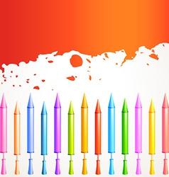Colorful pichkari vector