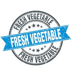 Fresh vegetable vector