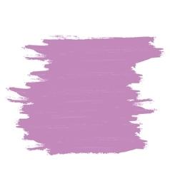 Purple banner of brushstrokes vector