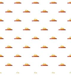 Sandbox pattern cartoon style vector