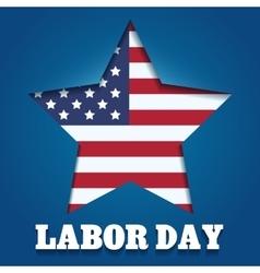 Labor Day Emblem vector image