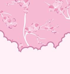 cut flow pink vector image