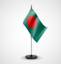 Table flag of bangladesh vector