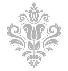 Damask oriental pattern vector
