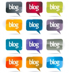 blog vector image