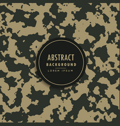 Camouflage pattern in milllitary fabric style vector