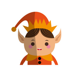 Christmas character icon image vector