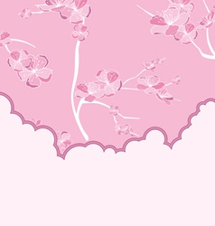 cut flow pink vector image