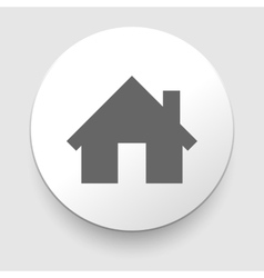 house icon eps10 vector image vector image