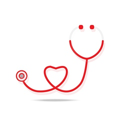 Stethoscope icon vector