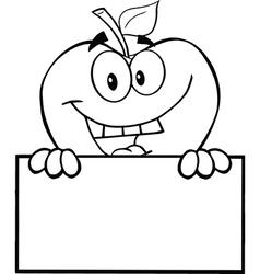 Fun apple activity drawings vector image vector image