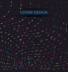 cover design line vector image
