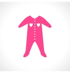 a pink jumpsuit Sleep and vector image