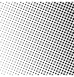 Black dots on a white background pop art vector