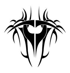Tribal background design vector