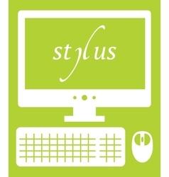 Web development stylus vector
