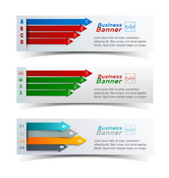 business colorful infographics vector image vector image