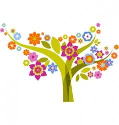 graphic tree design vector image