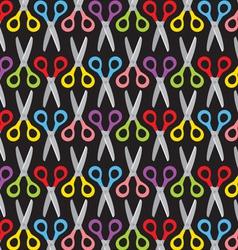 Scissors pattern vector