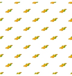 Seesaw pattern cartoon style vector