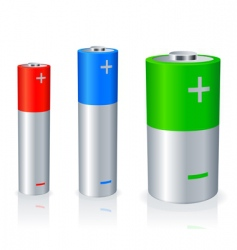 batteries vector image vector image