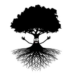 good luck tree vector image vector image