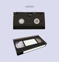 vhs cassette vector image
