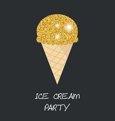 Ice cream cone ice cream cone vector
