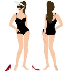 sexy body vector image