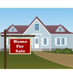 Home for sale vector