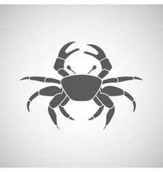 Crab icon design vector